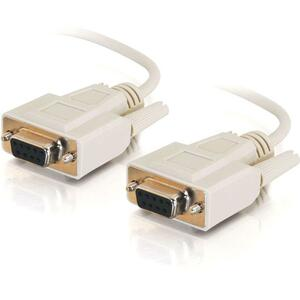 C2G 15ft Serial DTE/DCE Cable DB-9 Female To DB-9 Female / Mfr. No.: 03046