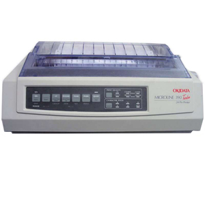 Oki MICROLINE 390 Turbo Dot Matrix Printer - 24-pin - 390 cps Mono - 360 x  360 dpi - Parallel, USB 62411901