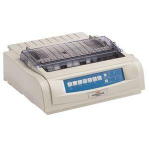 Oki MICROLINE 490 Dot Matrix Printer - EU Printer