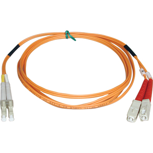 3m Duplex Mmf Cable Lc/Sc 50/125 Fiber Optic/ Fibre Chann / Mfr. No.: N516-03m