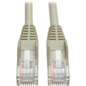 14ft Cat5e Gray Patch Cord Snagless Molded 350mhz / Mfr. No.: N001-014-Gy