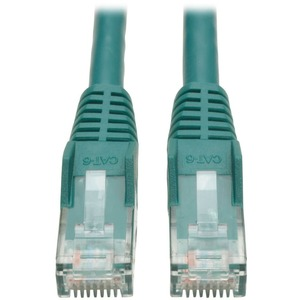 7ft Cat6 Green Gigabit Patch Cord Snagless Molded / Mfr. No.: N201-007-Gn
