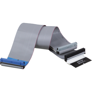 18in Int Dual Ultra Ata Eide 66/100/133 Ribbon Cable 3conn 4 / Mfr. No.: P906-18i