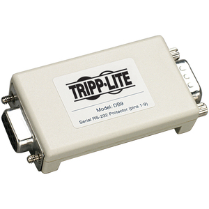 Tripp Lite Network Dataline Inline Protector Rs-232 Db9 Ser / Mfr. No.: Db9