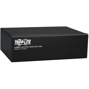 Tripp Lite 4-Port VGA/SVGA Video Splitter - 350Mhz / Mfr. No.: B114-004-R