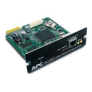 Apc Ups Network Management Card Disc Prod Rplcmnt Prt See Notes / Mfr. No.: Ap9617