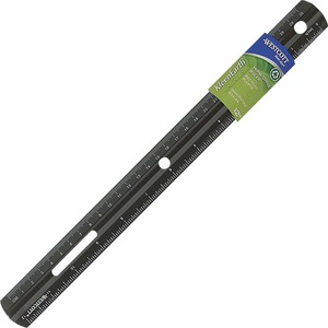 """Westcott® KleenEarth® 12"""" Ruler w/Microban®"""