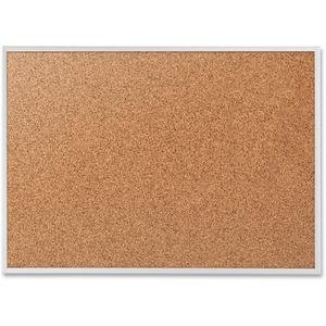 "Quartet® Standard Cork Board 36"" x 48"" Aluminum Frame"