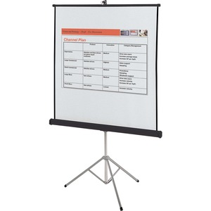 Quartet® Portable Tripod Projection Screen 60