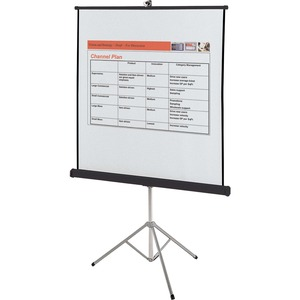 Quartet® Portable Tripod Projection Screen 70