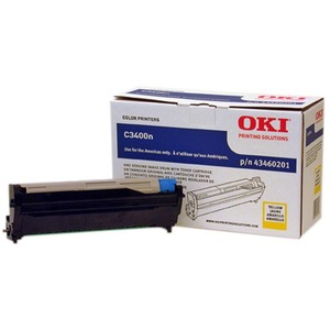Yellow Image Drum W/ 1k Toner For C3400/C3530mfp/C3600/Mc360m / Mfr. No.: 43460201