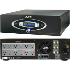 Av Only Black J Type 1kva Power Conditioner W/ Battery Backup 1 / Mfr. no.: J10Black