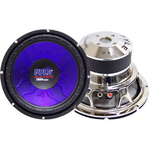 Pyle 10in 1000w Sub / Mfr. No.: Pl1090bl