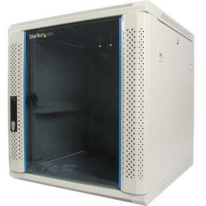 Durarak 12u Wall Mount Cabinet (Vented Glass Door)