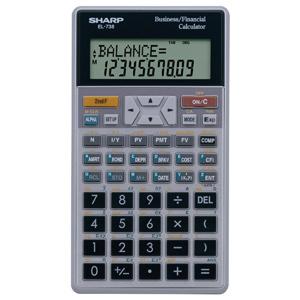 Sharp EL738FC Financial Calculator