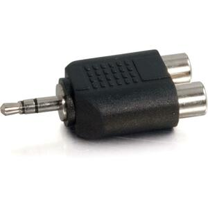 Dual Rca 3.5mm Adapter 2 Rcaf To 1 3.5mm-M / Mfr. no.: 40645