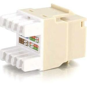 Cat5e 180 Keystone Jack Ivory / Mfr. no.: 03790