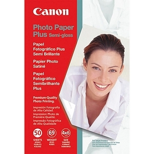 Canon Photo Paper Plus Semi-Gloss 4x6 50 Sheets / Mfr. No.: 1686b014