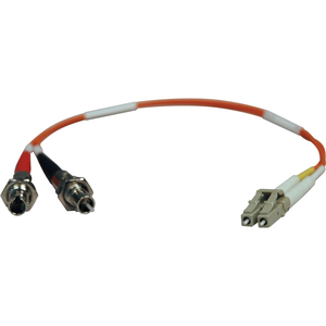 1ft Duplex Mmf 62.5/125 Adapter Cable M/F Lc/St / Mfr. No.: N457-001-62