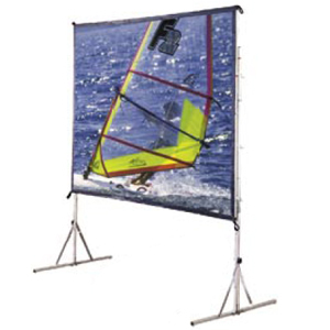 15ft Diag Cinefold Portable Screen 4:3 Fmw W/ Hd Legs / Mfr. No.: 218089