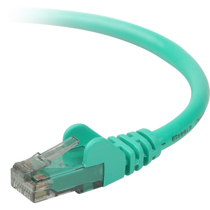 7ft Cat6 Green Snagless RJ45 M/M Patch Cord / Mfr. No.: A3l980-07-Grn-S