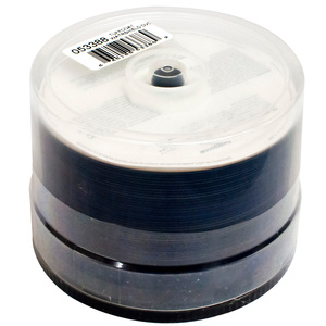50pk DVD-R Tuffcoat Watershield 16x 4.7gb White Hub/Glossy Fini / Mfr. No.: 53388