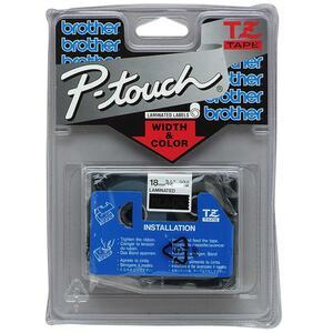 Brother TZ243 bleu/blanc 18mm TZE-243 / TZE243 / TZ243 - TZE-243