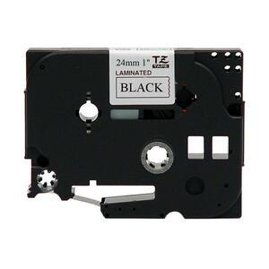 Ruban Brother Ptouch 24MM Noir/Blanc TZE-251 / TZE251 / TZ251 - TZE-251