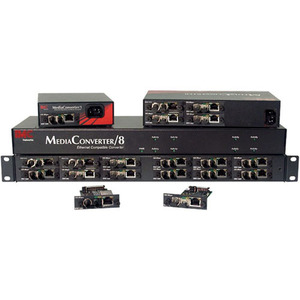 Mediaconverter/8 Unmanaged 8-Slot Tabletop Chassis Fixed A / Mfr. No.: 851-10908