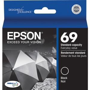 Epson® Inkjet Cartridge T069120-S #69 Black