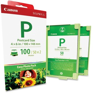 E-P100 100-Sheet 4x6 Easy Photo Pack W/Ink For Es1 Es2 Es3 Es30 / Mfr. No.: 1335b001