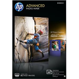 Papier photo HP - Brillant - A6 - 10x15 250g/m² - Q8008A