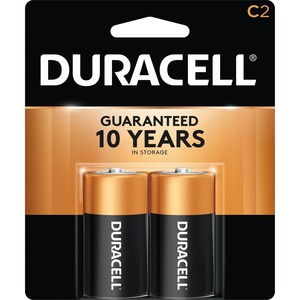 "Duracell® CopperTop® Batteries ""C"" 2/pkg"