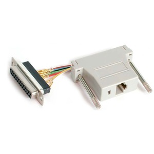 Adapter Db25f To Rj45f Gender Changer / Mfr. No.: Gc258ff