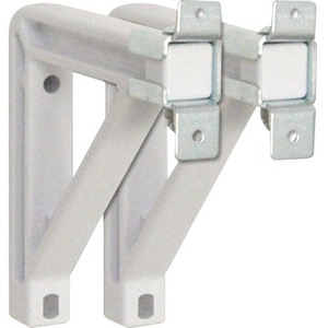 6in White Extension Wall Brkt Kit For Silhouette Screens / Mfr. No.: 227225