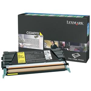 Toner Lexmark Jaune pour C534 - C5340YX