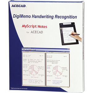 Acecad Digimemo Ocr Handwriting Recognition Software / Mfr. No.: Dm-Ocr