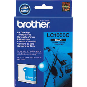 Encre Brother Cyan MFC410CN/DCP310N - LC1000C