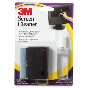 Screen Cleaner LCD And CRT Spray With Squeegee Wipe / Mfr. No.: Cl681