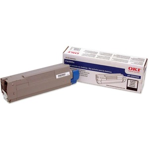 Black Toner Cartridge For C6000n/Dn 5k Yield / Mfr. No.: 43324469
