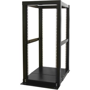 Startech 4 Post Rack Adjustable 25u Open Frame Server Rack Cabinet / Mfr. No.: 4postrack25