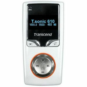 Transcend T.sonic 610 512MB MP3 Player