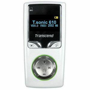 Transcend T.sonic 610 2GB MP3 Player