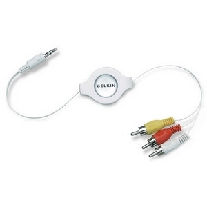 Belkin Retractable Audio/ Video Cable for iPod