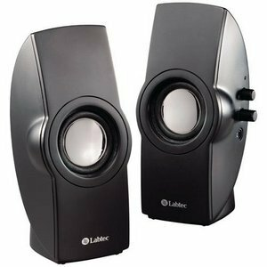 Logitech Labtec Spin 46 Multimedia Speaker System