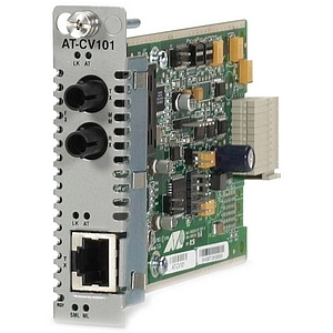 Allied Telesis Converteon AT-CV101 Twisted pair to Fiber Media Converter