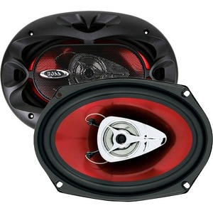 Boss 6x9in 2-Way Chaos Speakers Pair / Mfr. No.: Ch6920