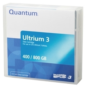 Quantum LTO Ultrium 3 Prelabeled Tape Cartridge