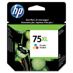 HP Inkjet Cartridge High Yield CB338WN #75XL Tricolour