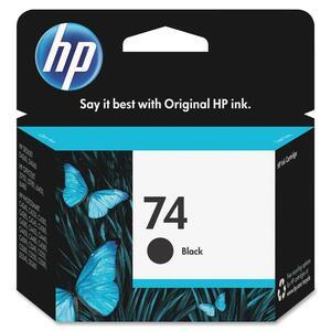 HP Inkjet Cartridge CB335WN #74 Black